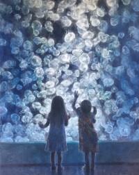 水見先生「海の月」