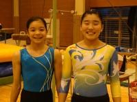 体操部女子写真(個人入賞)