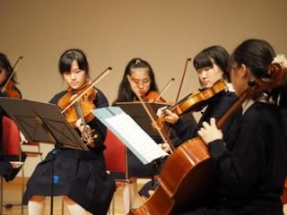 室内学部定期演奏会バイオリン