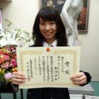 高1女子が「関東高校フェンシング 茨城県予選大会」2位入賞!