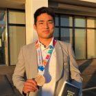「ユースオリンピック2018」日本代表 植村陽彦さんが銅メダル獲得