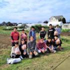 高校1年生が「農業巡検」に参加