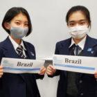 「第14回全日本高校模擬国連大会」に高校生2名が出場